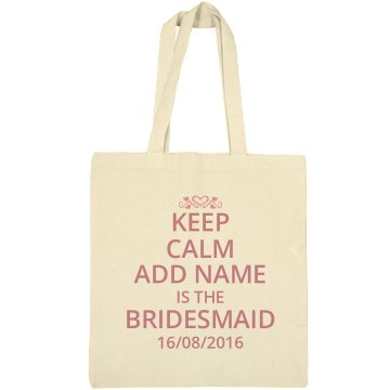 Bridesmaid bag,
