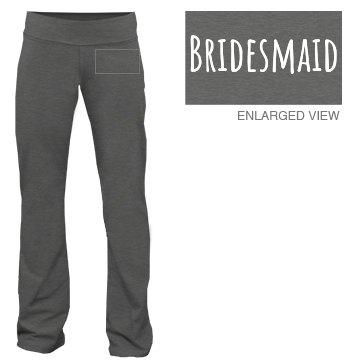 Bridesmaid Yoga Pant