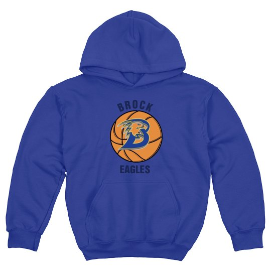 Brock Basketball Hoodie Youth