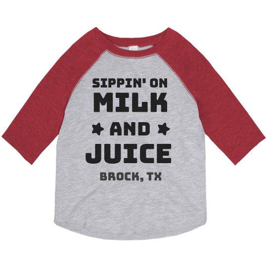 Brock Sippin' on Milk