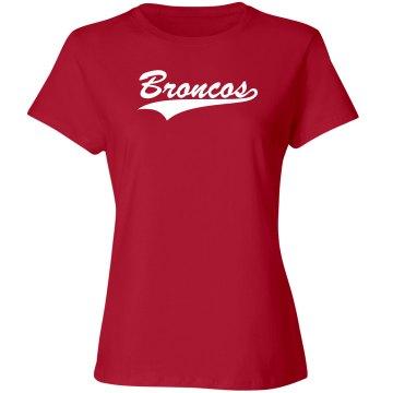 Broncos sports shirt