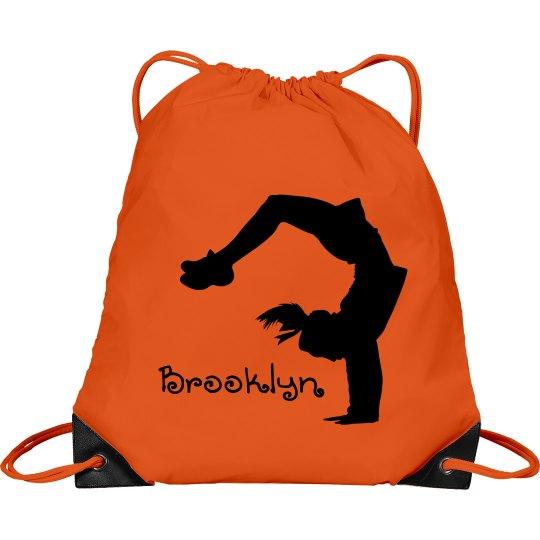 Brooklyn cheerleader bag