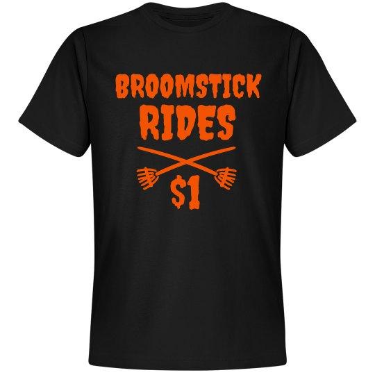 Broomstick Rides $1