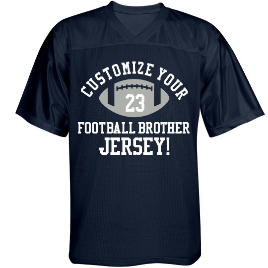 Brother Football Jersey