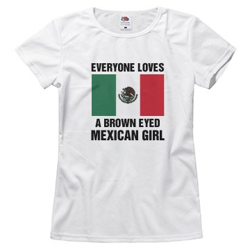 Brown eyed mexician gitl