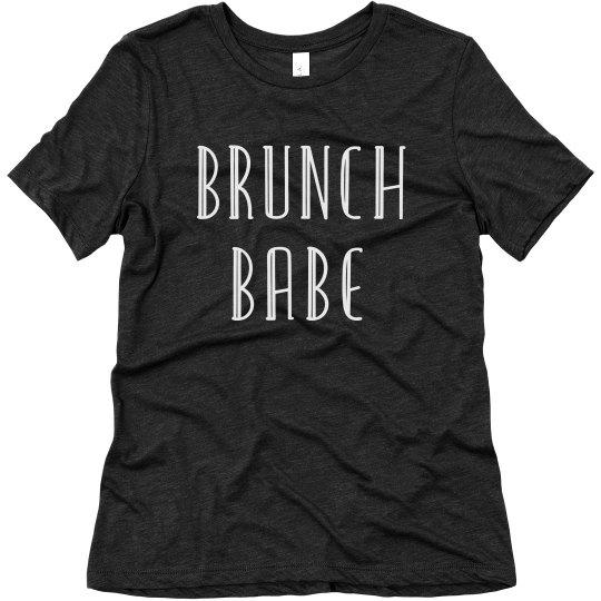 Brunch Babe Comfy Weekend Tee