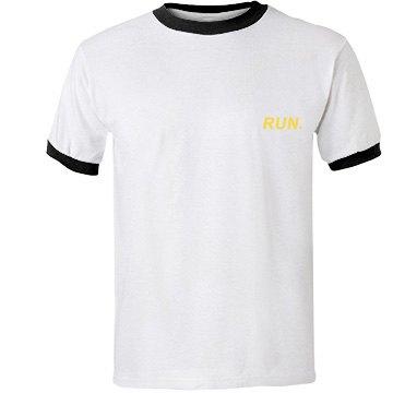 BTS_Yellow Run Unisex Ringer Shirt