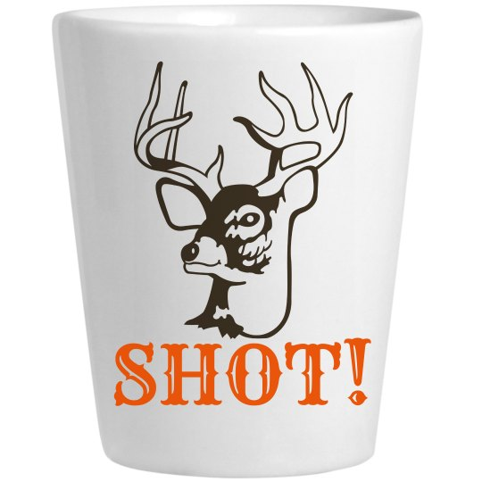 Buck Shot Hunting Pun