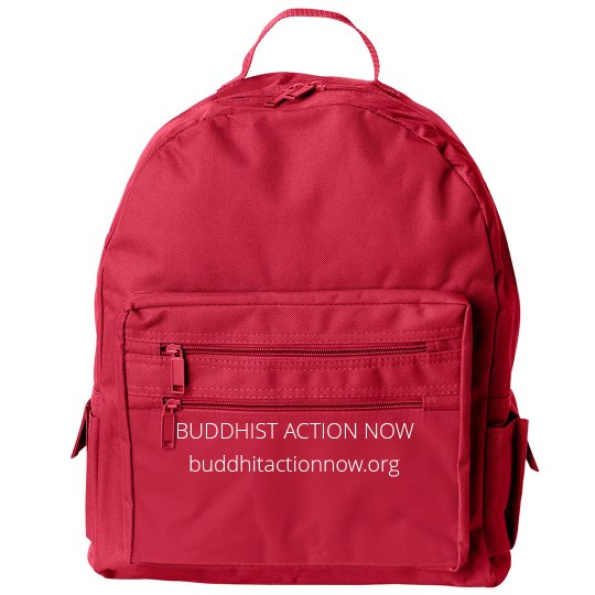 Buddhist Action Now Small Backpack