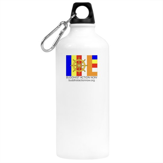 Buddhist Action Now Water Bottle