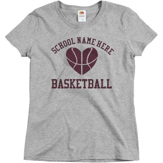 Budget Priced Custom Basketball Mom Shirt