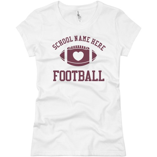 Budget Priced Football Mom Shirt Custom Name Number