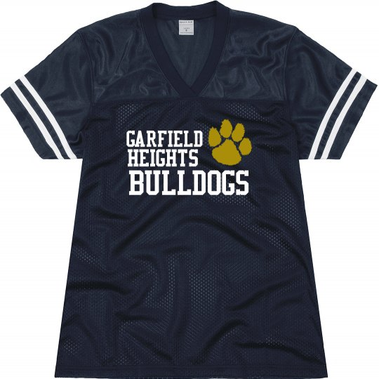 Bulldogs Football Jersey