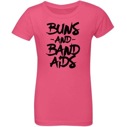 Buns and Band Aids Youth Tee