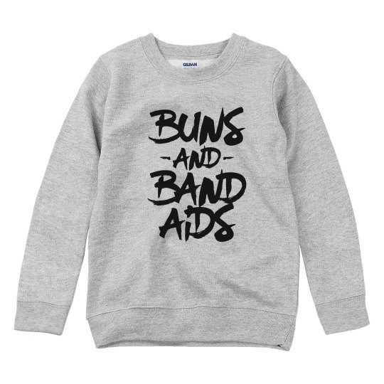 Buns and Bandaids Youth Sweatshirt