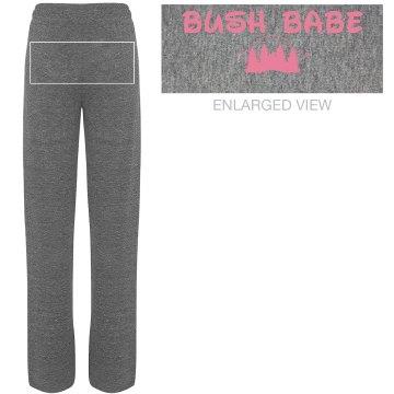 """""""Bush Babe"""" - Women's Jersey Lounge Pants"""