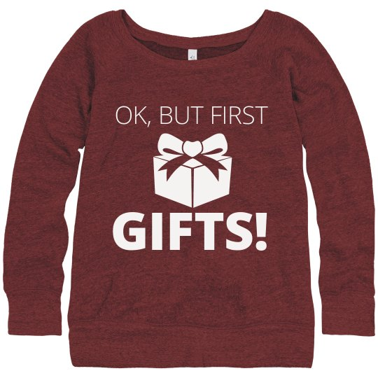 But First, Christmas Gift