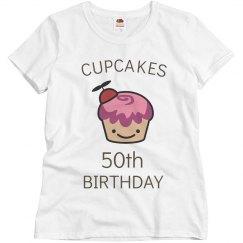 Cupcakes 50th birthday