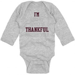 I'm Thankful Onesie