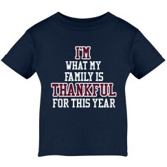 I'm Thankful Infant Tee