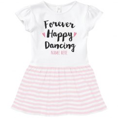 Forever Happy Dancing Toddler Dress