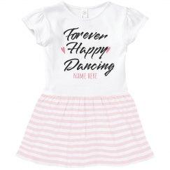 Forever Happy Dancing Toddler Dress