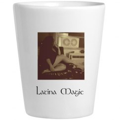Latina Magic Shot Glass