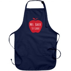 Custom Teacher Name Apron Smock