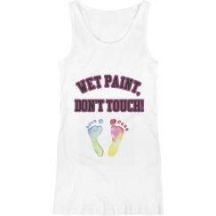 Wet paint, don't touch!