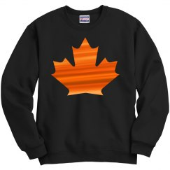 Autumn leaf sweatshirt.
