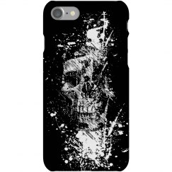 Skull Grafitti iPhone
