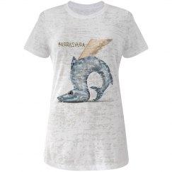 Barrashuda Jr Burnout Crew Neck T-Shirt