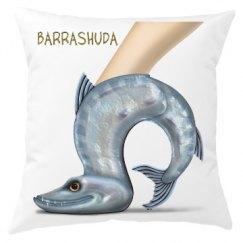 Barrashuda Throw Pillow