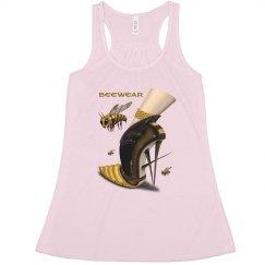 Beewear Bella Flowy Racerback Tank Top for Women