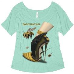 Beewear Flowy Slouchy T-Shirt for Women