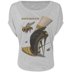 Beewear Bella Flowy Circle Top T-Shirt for Women