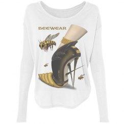 Beewear Bella Flowy Long Sleeve Shirt for Women