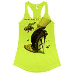 Beewear Neon Racerback Tank Top for Juniors