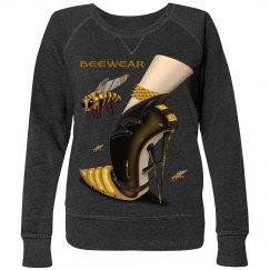 Beewear French Terry Long Sleeve Shirt Plus Size Women
