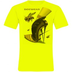Beewear Neon Canvas Crew Neck Unisex T-Shirt