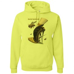 Beewear Neon Heavyweight Long Sleeve Unisex Hoodie