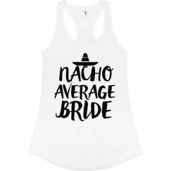 Nacho Average Bride Mexico Cinco