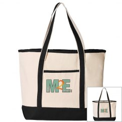 Move To Empower Canvas Tote