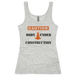 Body Under Construction Workout Tank