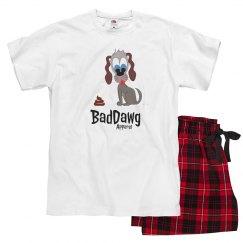 BadDawg poop in colour Pajamas