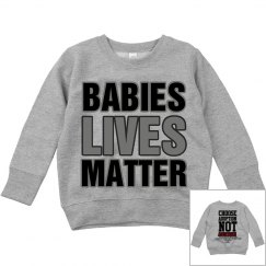 Toddler Babies Lives Matter