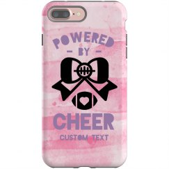 Custom Phone Case Powered By Cheer