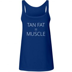 Tan Fat = Muscle