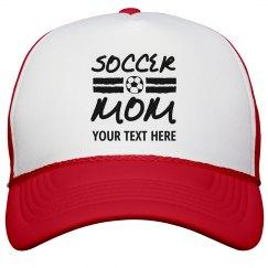 Custom Soccer Mom Hat