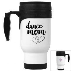 Dance mom travel mug